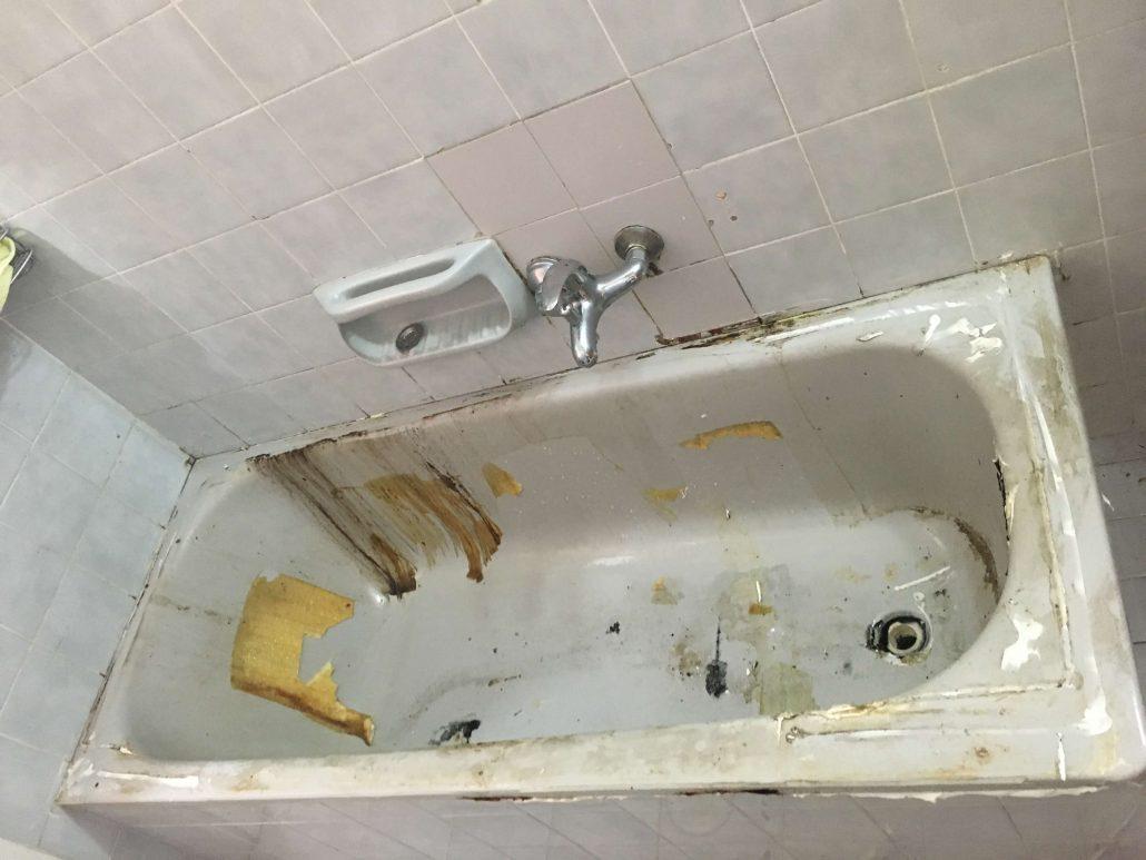 כיצד מטפלים בבעיות חלודה באמבטיה?