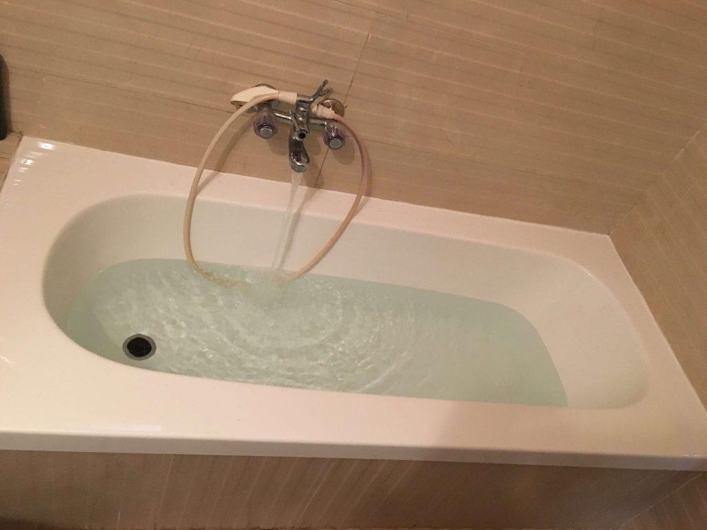 אמבטיה ללא חלודה לאחר ציפוי