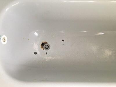 תיקון חלודה באמבטיה