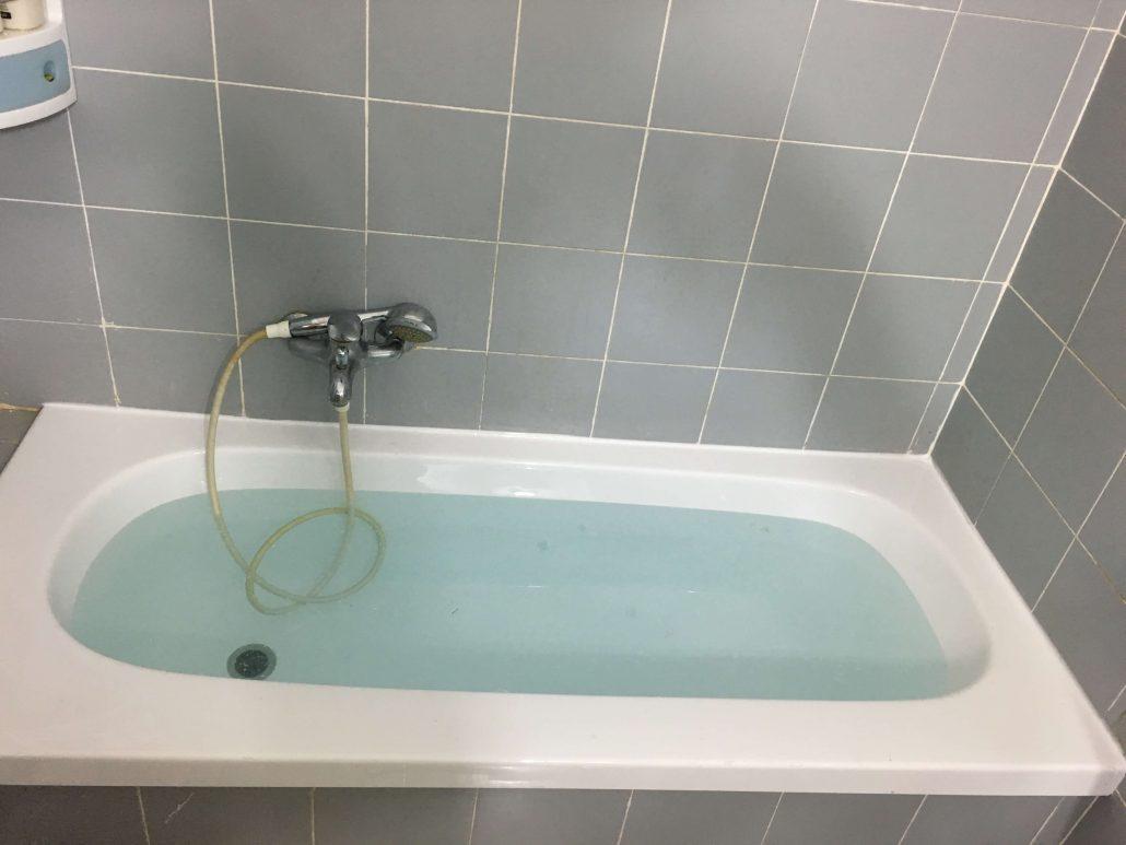 אמבטיה לאחר ציפוי