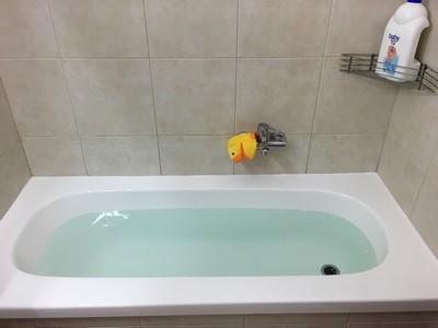 אמבטיה שעברה טיפול